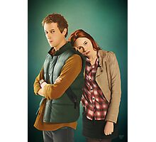 Rory and Amy - 'The Doctor's Wife' (Doctor Who) Photographic Print