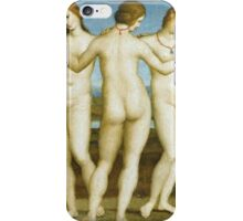 Raphael - The Three Graces. Women portrait: Three Graces, women,  feminine, pretty women, femine, beautiful, greek, mythology, love, sexy , erotic iPhone Case/Skin