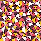 triangles abstract  by BoYusya