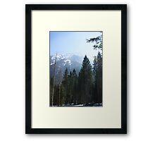 Alpine Austria Framed Print
