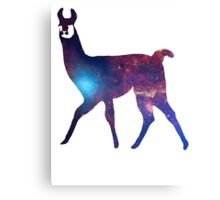 Space Llama Canvas Print