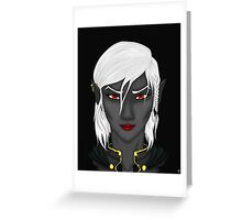 """D&D: """"Red Lips"""" Greeting Card"""