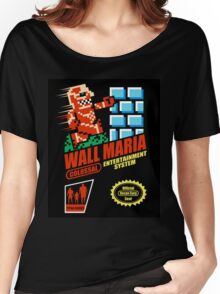 Wall Maria Entertainment System Women's Relaxed Fit T-Shirt