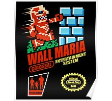 Wall Maria Entertainment System Poster