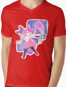 Braixen Mens V-Neck T-Shirt