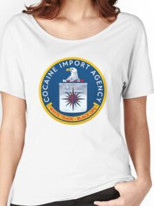 CIA (Cocain Import Agency) Women's Relaxed Fit T-Shirt