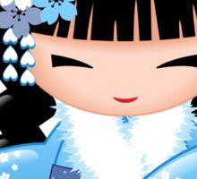 Winter Kokeshi Doll V2 Sticker