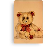 My Teddy Canvas Print