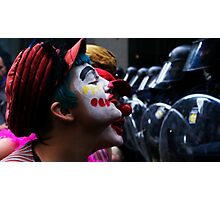 Playing With The Clowns Photographic Print