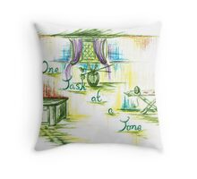 One  Task at a Time Throw Pillow