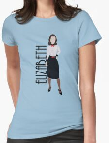 Elizabeth  Womens Fitted T-Shirt