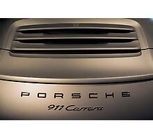 2016 Porche Photographic Print