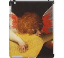 Rosso Fiorentino - Musical Angel 1522. Child portrait: cute baby, kid, children, angel, child, kids, lovely family, boys and girls, boy and girl, mom mum mammy mam, childhood iPad Case/Skin