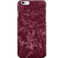 Cleveland whit Lebron King James iPhone Case/Skin