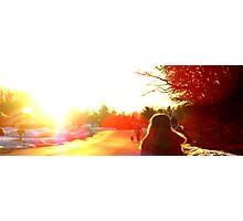 Sunflare Photographic Print