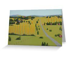 Bundarra Road in Spring Greeting Card