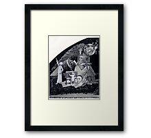 Feeding Lucifer.  Framed Print