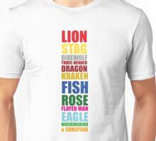 Westeros House Sigils Unisex T-Shirt