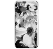 Black & White Dogwood iPhone Case/Skin