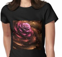 Valentine - Abstract Fractal Artwork Womens Fitted T-Shirt