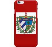 Cuban Coat of Arms iPhone Case/Skin