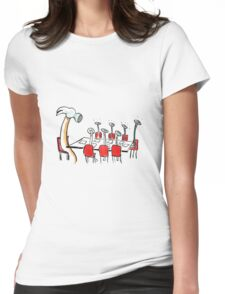 Stop Micro-Management. Womens Fitted T-Shirt