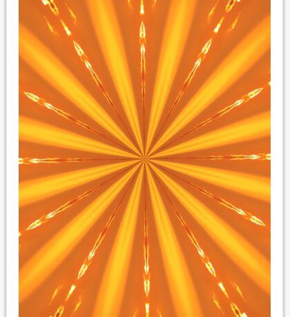 Sun Burst Sticker