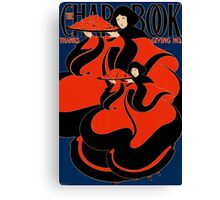 'Chapbook Thanksgiving' by William Bradley (Reproduction) Canvas Print