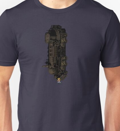 Sabin Suplex Phantom Train - FFVI sprites Unisex T-Shirt