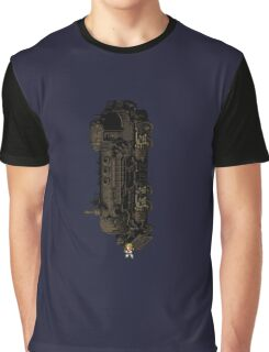 Sabin Suplex Phantom Train - FFVI sprites Graphic T-Shirt