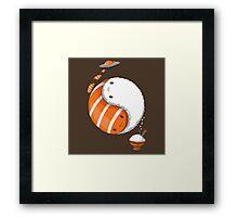 Sushi is zen Framed Print
