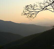 Smoky Mountain Sundown by SummerJade
