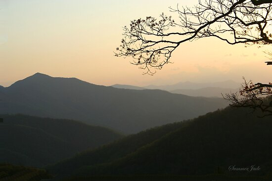 Smoky Mountain Sundown by SummerJade