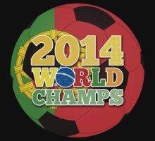 2014 World Champs Ball - Portugal One Piece - Long Sleeve