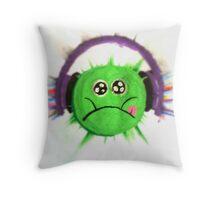 BIGFATMUSIC Throw Pillow
