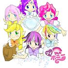 My Little Pony Magical Girls by Sophia Perry