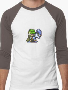 Frog / Glenn celebration - Chrono Trigger Men's Baseball ¾ T-Shirt