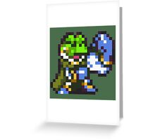 Frog / Glenn celebration - Chrono Trigger Greeting Card