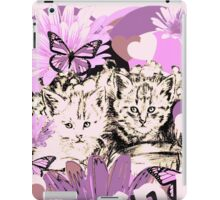 Frieda's Baby Cats in Pink iPad Case/Skin