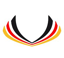 Germany stripe flag by Style-O-Mat