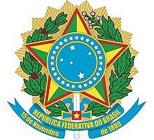 Brazilian Coat of Arms Photographic Print