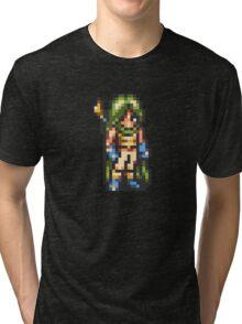 Frog / Glenn Human Form - Chrono Trigger Tri-blend T-Shirt