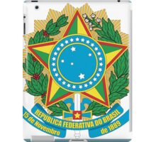 Brazilian Coat of Arms iPad Case/Skin