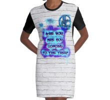 Are you coming to the tree? Graphic T-Shirt Dress