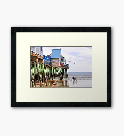The Official Beach Season Take Off...Memorial Day!!! Framed Print