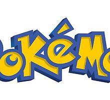 Pokemon logo by AliLovesCats