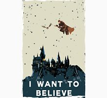 I Want To Believe - Hogwarts Unisex T-Shirt