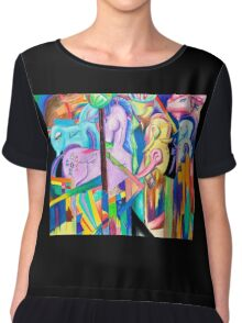 Franz Marc is a Brony Chiffon Top
