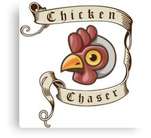 Fable - Chicken Chaser Canvas Print