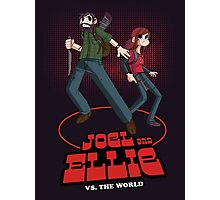 Joel and Ellie Vs. The World Photographic Print